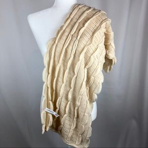 NWOT Anthropology Knit Scarf